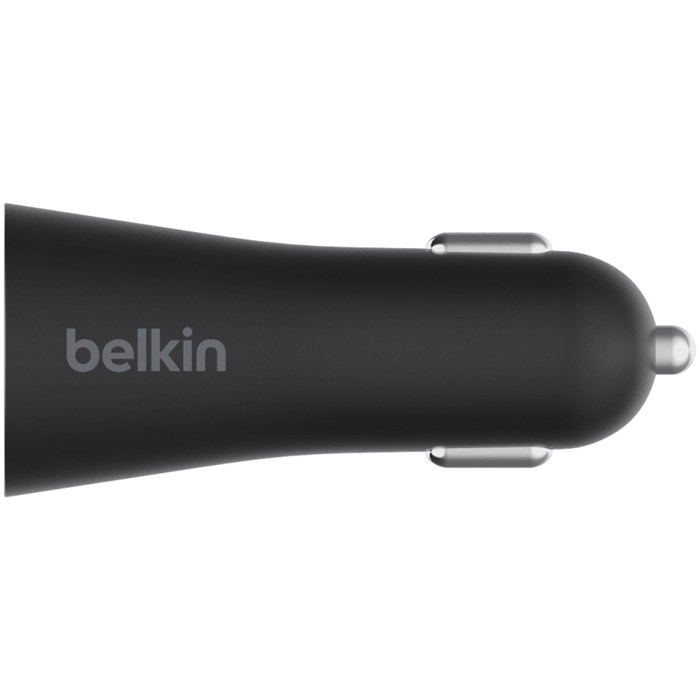 Image of   Belkin 27 W USB-C Power Car Charger Black