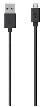 Billede af Belkin Sync&Charge MicroUSB Kabel 2m Sort