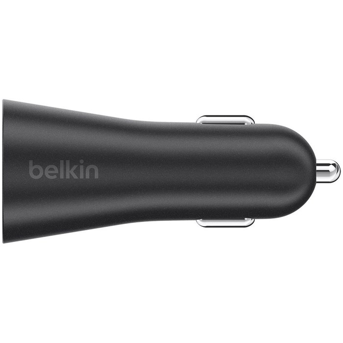 Image of   Belkin Dual Car Charger 2x2.4A Black