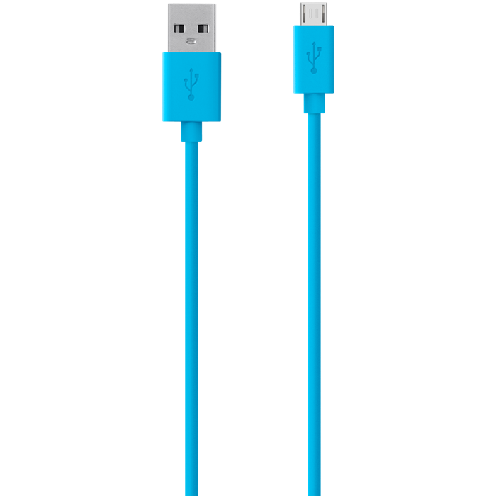 Image of   Belkin Micro USB cable blue