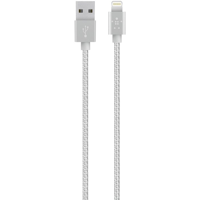 Image of   Belkin Premium Lightning cable 12 M Silver
