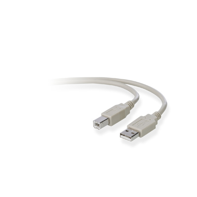 Image of   BELKIN PRO SERIES HISPEED USB (2.0 DEVICE CABLE 18M)