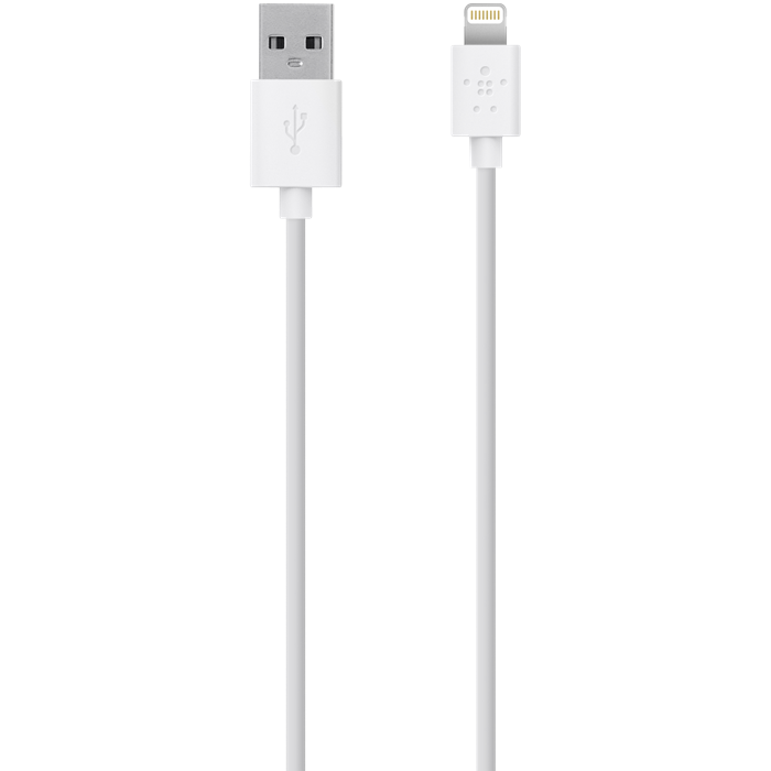 Image of   Belkin Sync/Charge Cable 2.1 A Ltg 1.2M