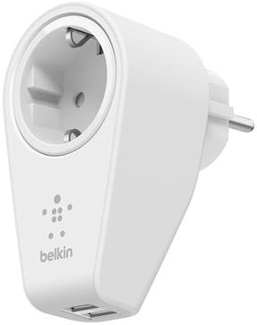 Image of   Belkin Wall Charger Dual Port Swivel Charger 2.4Amp