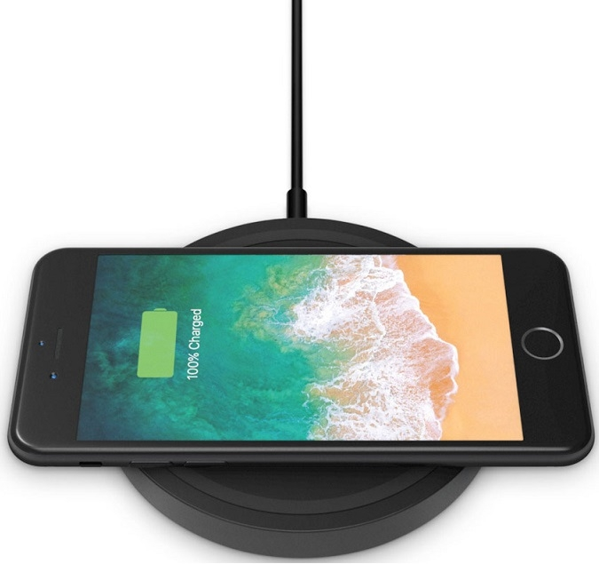 Image of   BELKIN WIRELESS 5W (CHARGER PAD BLACK)