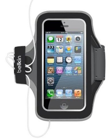 Billede af Belkin SlimFit Sports Armband til iPhone 5 / 5S / SE - Sort