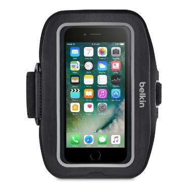 Billede af Belkin Sport-Fit Plus Armbånd til iPhone 7 Sort