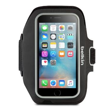 """Billede af Belkin iPhone 7 Plus (5.5"""" skærm) Sport-Fit+ Armbånd Sort"""