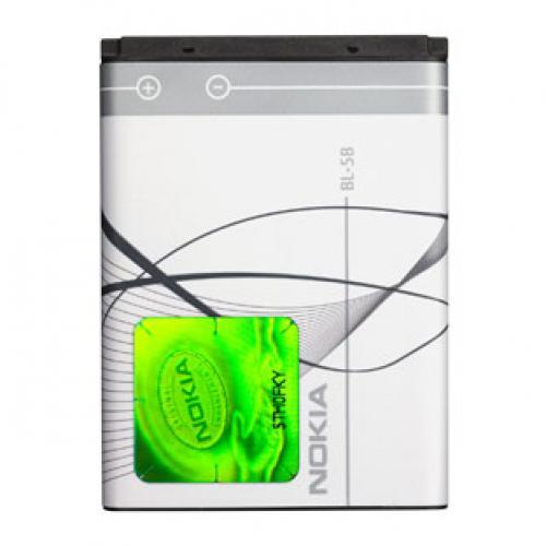 Billede af Nokia BL-5B batteri Originalt Nokia batteri