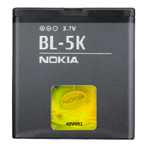 Billede af Nokia BL-5K batteri Originalt