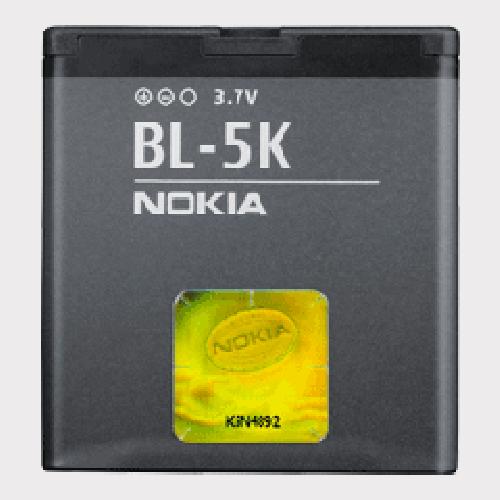 Billede af Nokia BL-5K batteri
