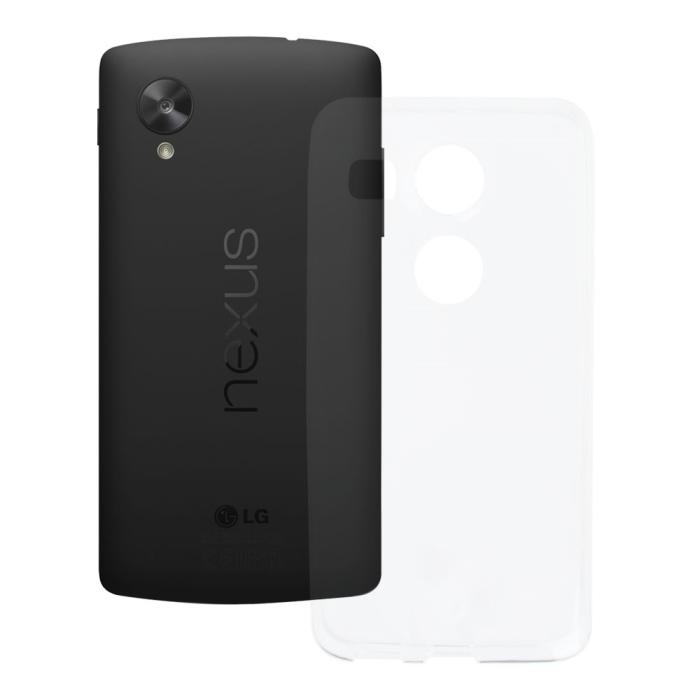 Image of   Blødt Cover Til LG Nexus 5X Redneck TPU Flexi Gennemsigtig