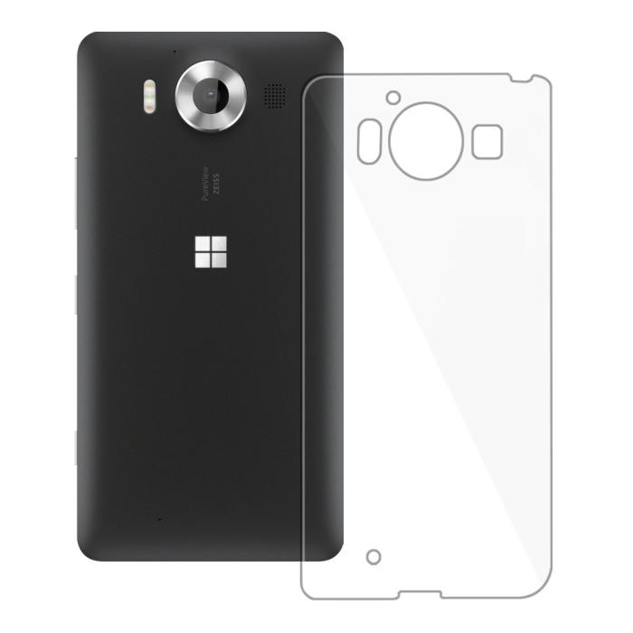 Image of   Blødt Cover Til Microsoft Lumia 950 Redneck TPU Flexi Gennemsigtig