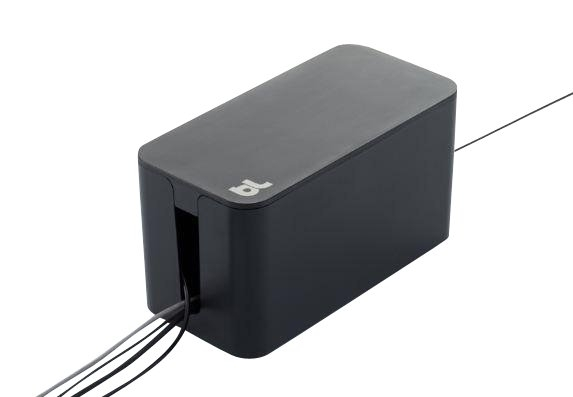Image of   Bluelounge Cablebox Mini - Original from Bluelounge! Flame-resistant cord storage