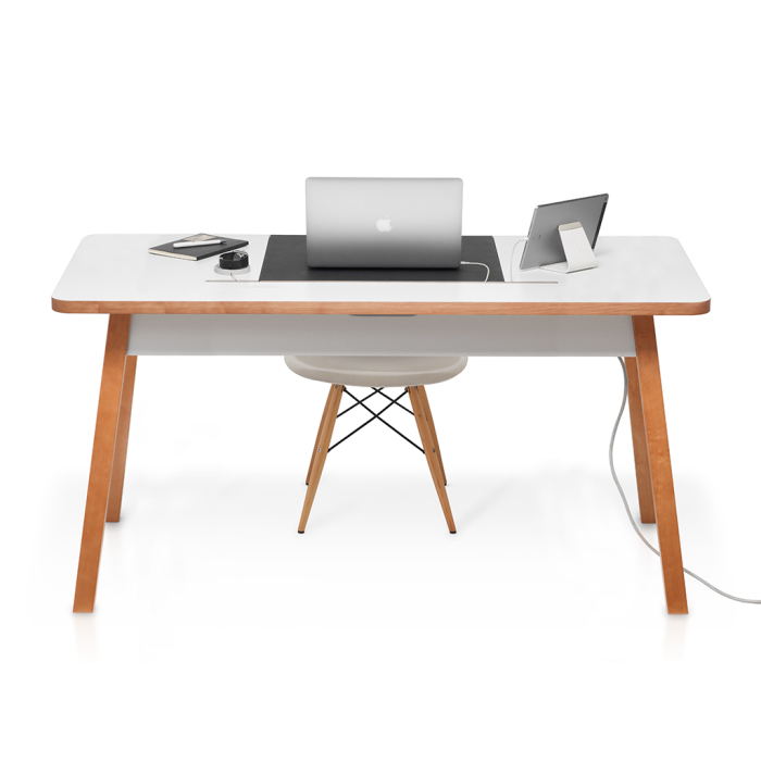 Image of   Bluelounge StudioDesk II XL - 150 cm - Modern desk with cable management