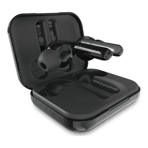 Bluetooth Twins Pro Earphones w/charging base Blk