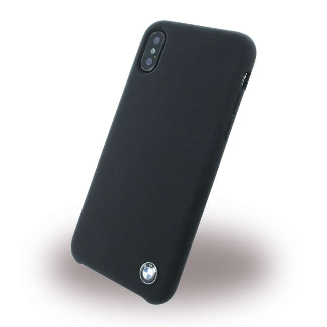 Image of   BMW - Signature - Silicone Cover - Apple iPhone X - Black