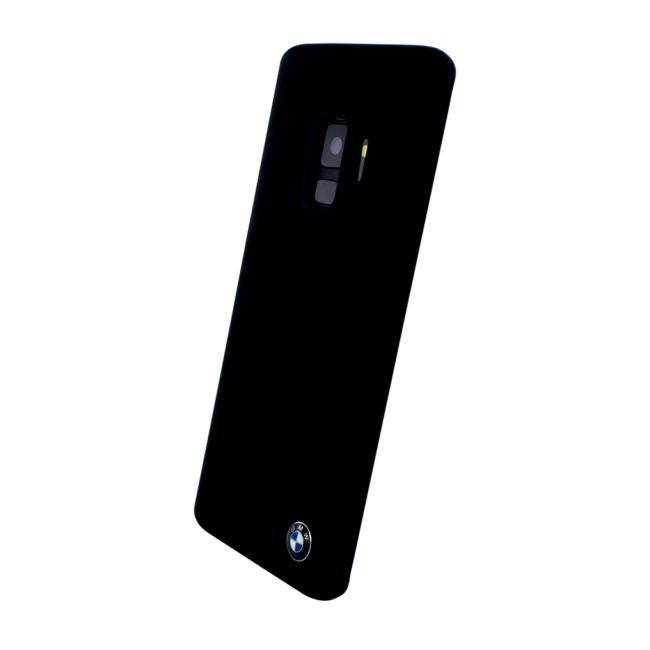 Image of   BMW - Silicone Fiber - Silicone Cover - Samsung G960F Galaxy S9 - Black