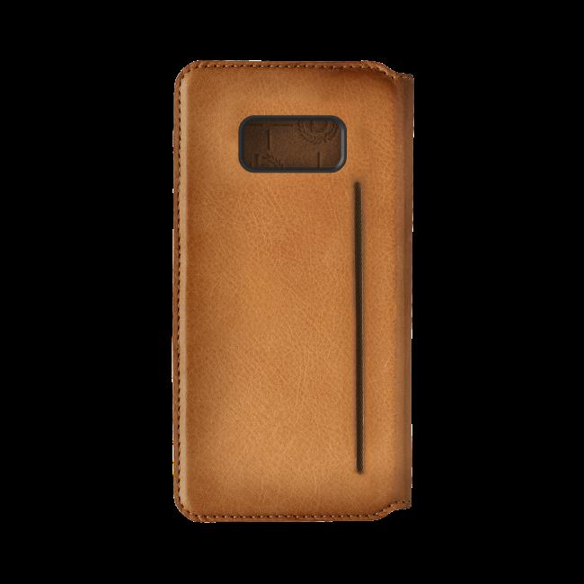 Image of   bugatti Booklet case Parigi for Galaxy S8 cognac