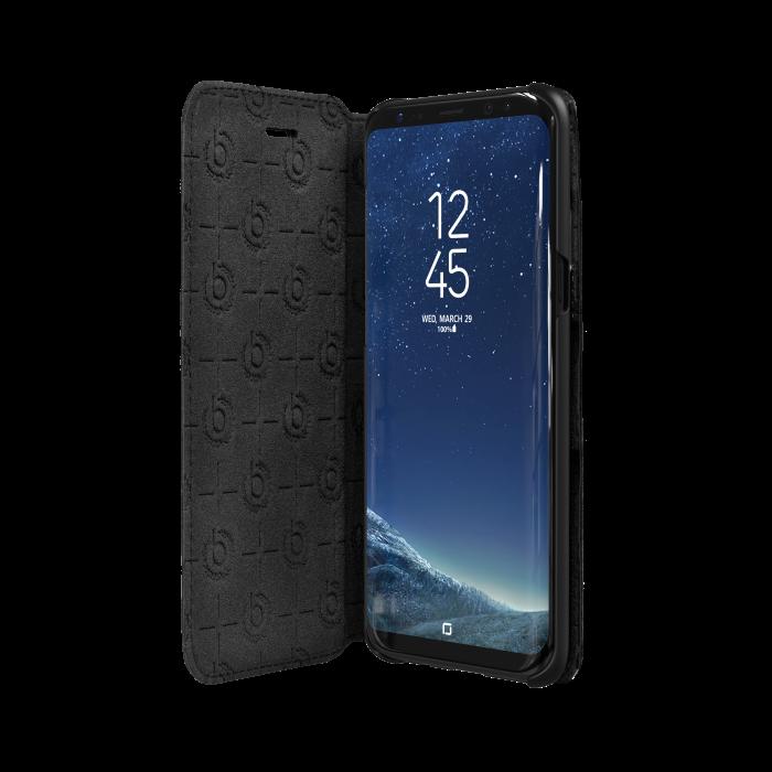 Image of   bugatti Booklet case Parigi for Galaxy S8 Plus black