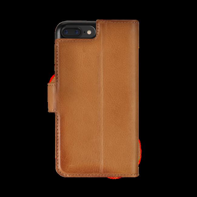 Image of   bugatti Booklet case Zurigo for iPhone 7/8 Plus cognac