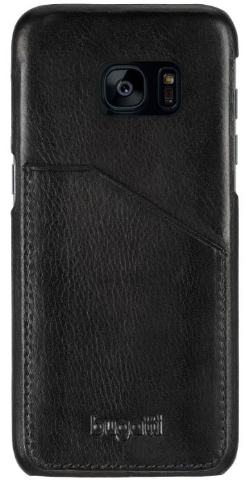 Image of   Bugatti Londra cover til Samsung Galaxy S8+ Plus sort med Dankort lomme