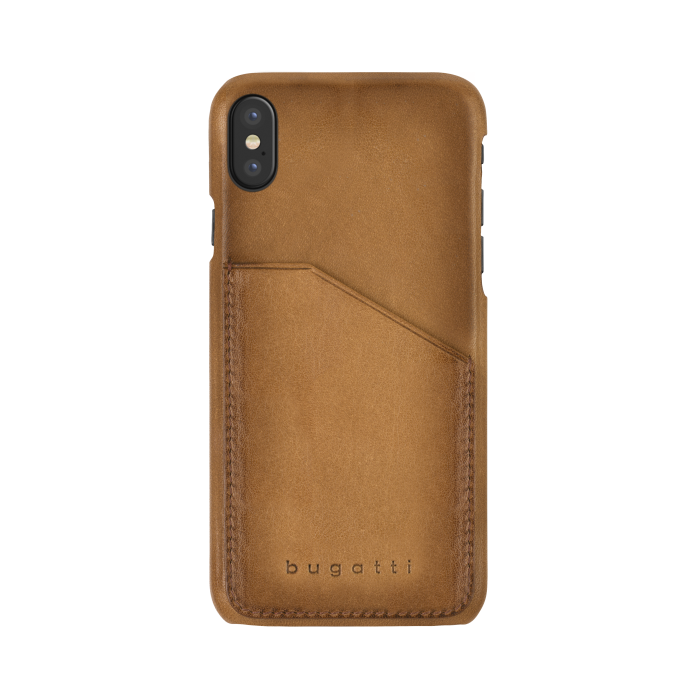 Image of   bugatti Londra for iPhone X/Xs cognac