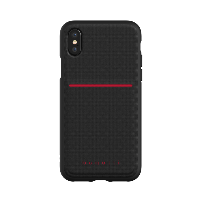 Image of   bugatti Snap Case Flexcity for iPhone X/Xs black