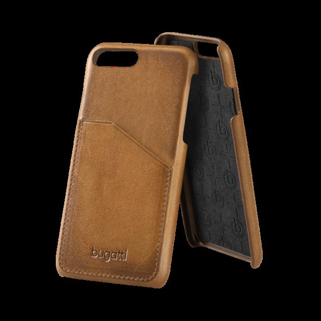 Image of   bugatti Snap case Londra for iPhone 7/8 Plus cognac