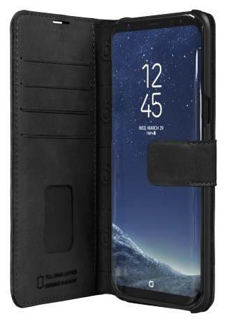 Billede af Bugatti Zurigo læder cover til Samsung Galaxy S8+ (Plus) Sort