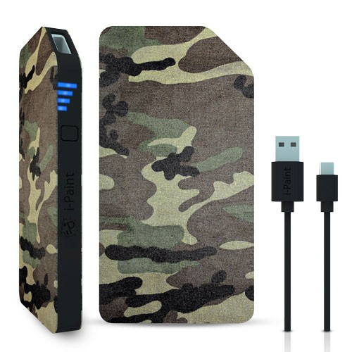Image of   3000 mAh Powerbank / eksternt batteri 1A fra i-Paint Camo