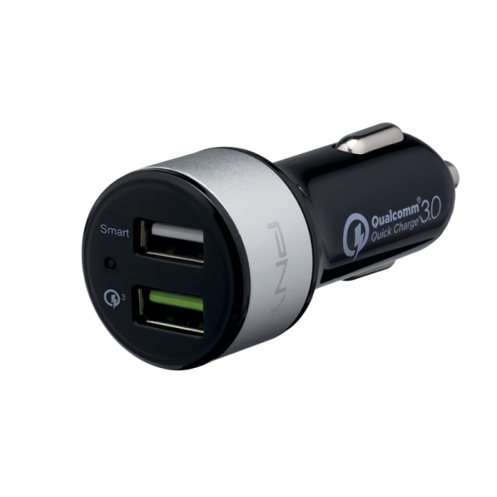 Image of   CAR CHARGER EU QUICK CHARGE (3.0 BLACK)