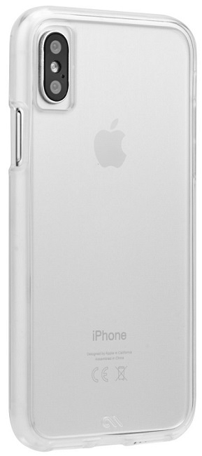 Image of   Case-mate Barely There Cover til iPhone X Clear
