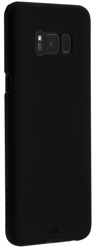 Image of   Case-mate Barely There Cover til Samsung Galaxy S8+ (Plus) Sort