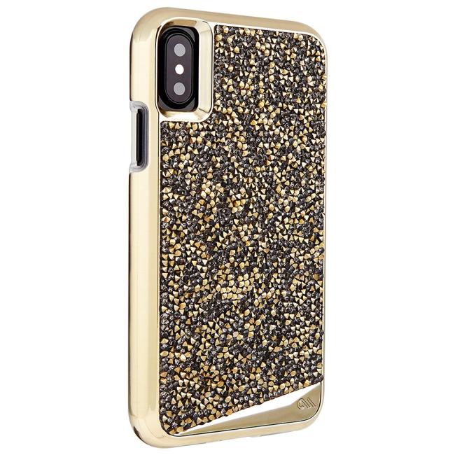 Case-Mate Brilliance iPhone X : Case-Mate Brilliance iPhone X Champagne