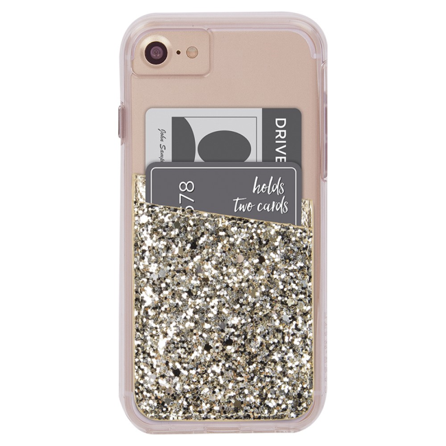 Case-Mate Glitter Pocket : Case-Mate Glitter Pocket Champagne