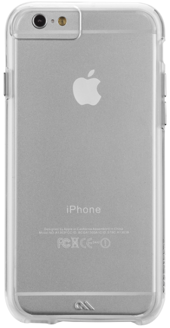 Image of   Case-mate Naked Tough Cover til iPhone 8 / 7 / 6 / 6S Clear
