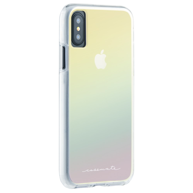 Image of   Case-Mate Naked Tough iPhone X : Case-Mate Naked Tough iPhone X Iridescent