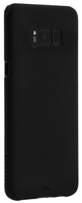 Image of   Case-Mate Barely There cover til Samsung Galaxy S8 Sort