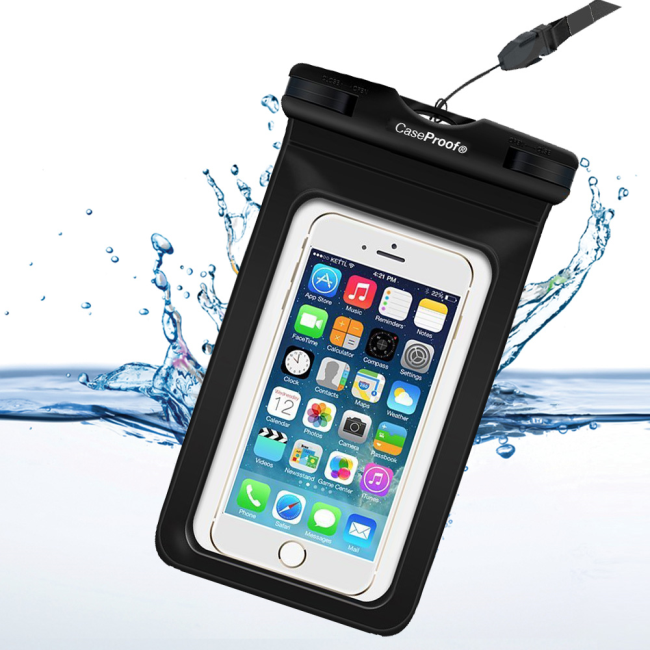 Image of   CaseProof Waterproof & Floating Universal Bag for Universal clear/black