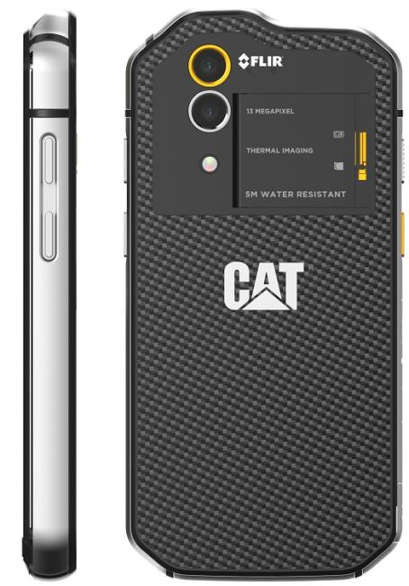 Caterpillar CAT S60 Håndværkermobil med termisk kamera