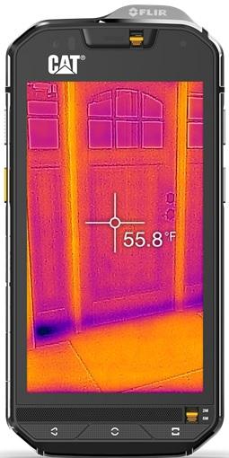 Image of   Caterpillar CAT S60 Håndværkermobil med termisk kamera