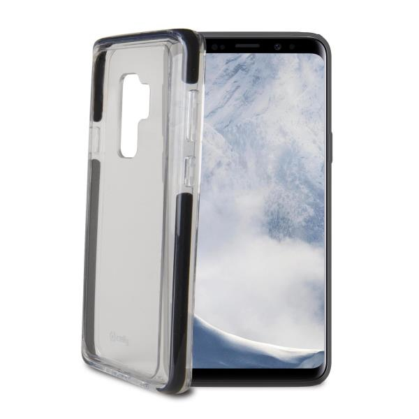 Image of   CELLY HEXAGON COVER (GALAXY S9+ BLACK)