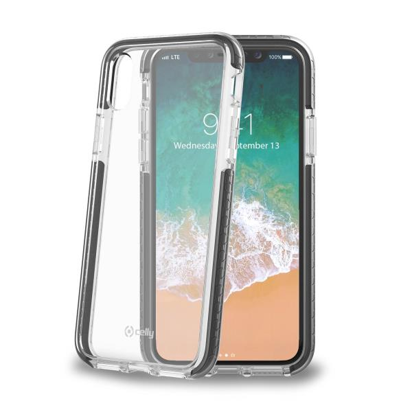 Image of   CELLY HEXAGON COVER (IPHONE X/XS BLACK)