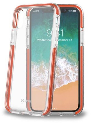 Image of   CELLY HEXAGON COVER (IPHONE X/XS ORANGE)