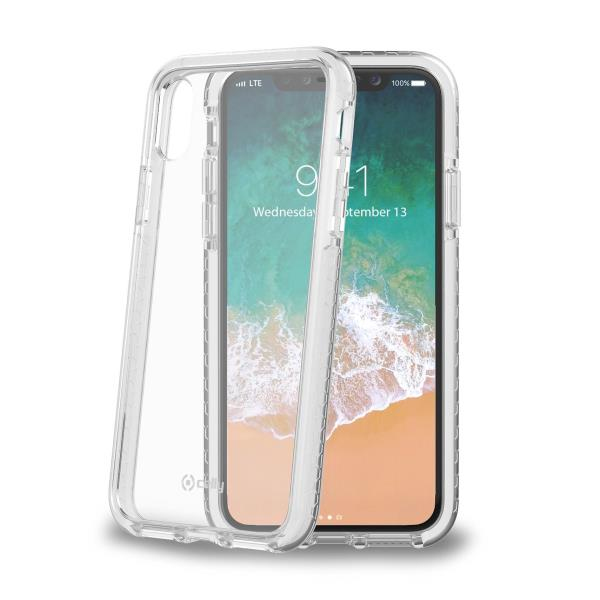 Image of   CELLY HEXAGON COVER (IPHONE X/XS WHITE)