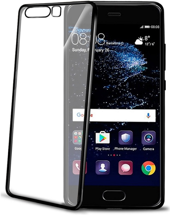 Image of   CELLY LASER COVER (HUAWEI P10 BLACK)