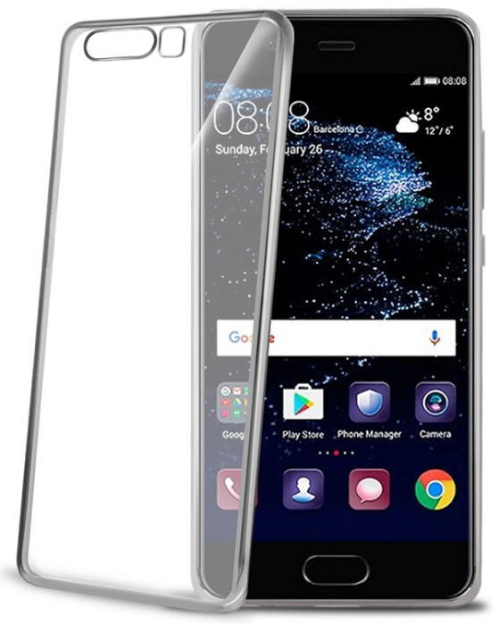 Image of   CELLY LASER COVER (HUAWEI P10 SILVER)