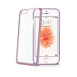 Image of   CELLY LASER EDGE COVER (APPLE IPHONE 5/5S/SE PINK)
