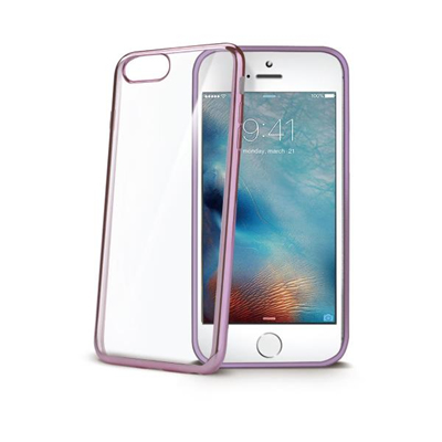Image of   CELLY LASER EDGE COVER (APPLE IPHONE 7 PLUS ROSE)